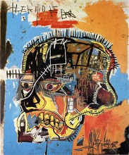 untitled (skull) par Jean-Michel-Basquiat (1984)