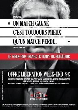 Libération affiche son offre du weekend