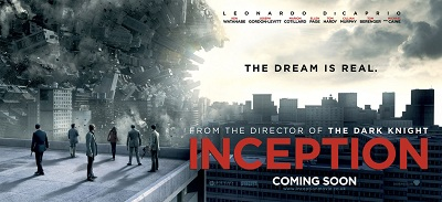 Inception de Christopher Nolan - affiche 1