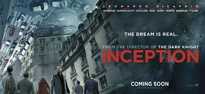 Inception de Christopher Nolan - affiche 2