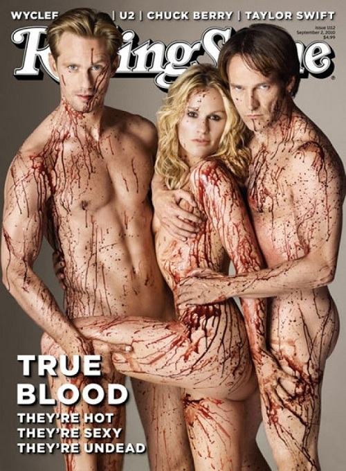 True Blood saison 3 : la couverture sexy de Rolling Stone