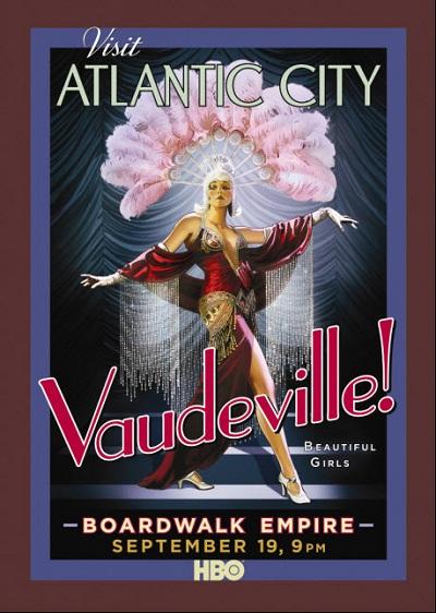 Boardwalk Empire : une autre affiche rétro