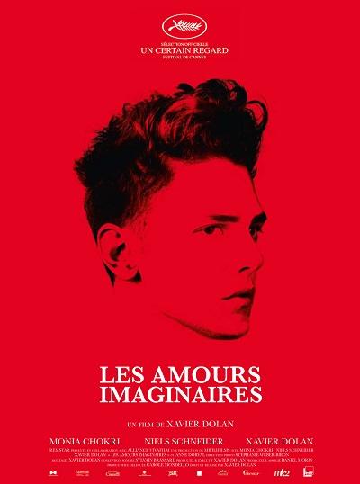 Les Amours Imaginaires: 3 affiches pour un film
