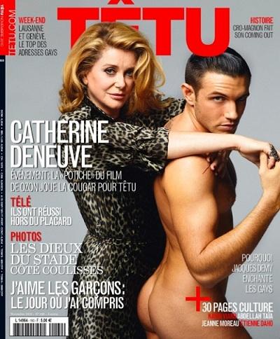 Catherine Deneuve en cougar têtue