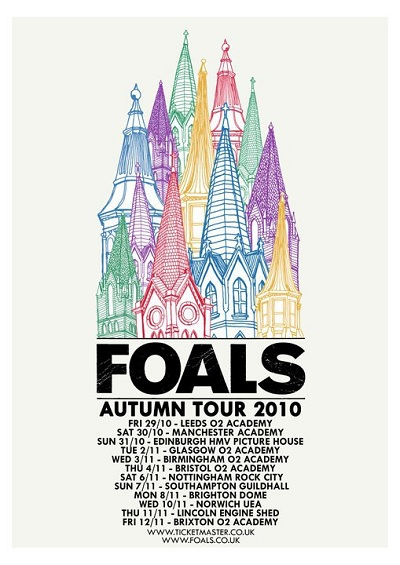 foals tour par harry wright
