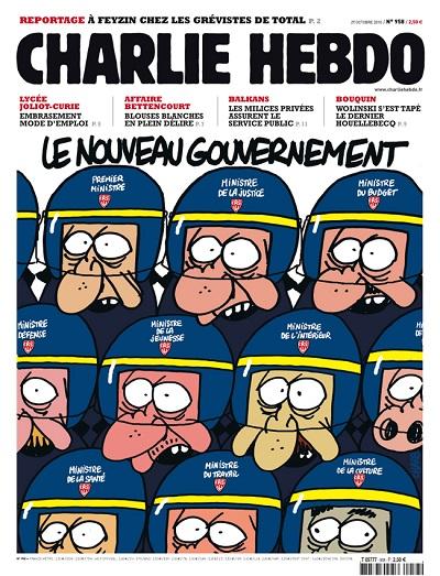 le nouveau gouvernement par Charb de Charlie Hebdo