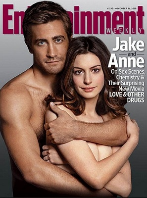 Entertainment Weekly Jake Gyllenhaal et Anne Hathaway