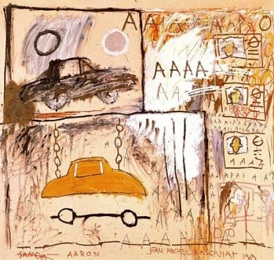 Jean Michel Basquiat Cadillac Moon