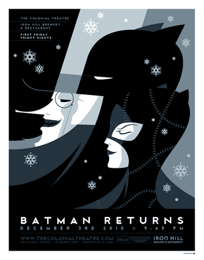 Batman Returns par Tom Whalen