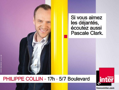 campagne France Inter Philippe Collin