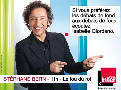 campagne France Inter Stéphane Bern