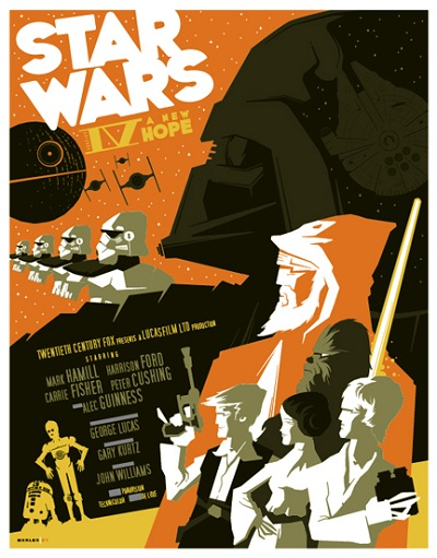 Star Wars New Hope Tom Whalen