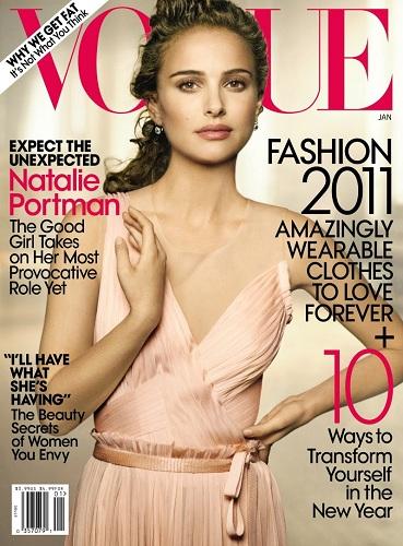 Natalie Portman photographiée par Peter Lindberg pour Vogue US
