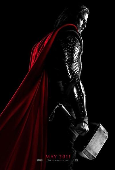 La première affiche de Thor, le film de Kenneth Branagh