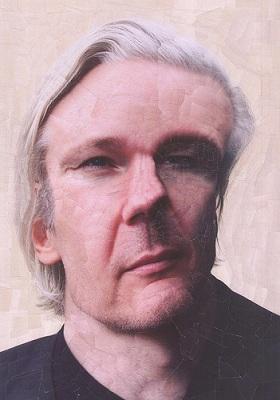 julian assange par lola dupré