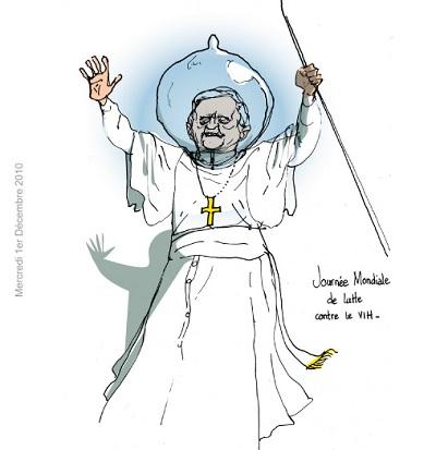 le pape et le préservatif telex de tOad