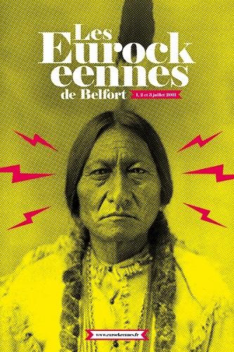 affiche: Les Eurockéennes 2011 sur le sentier du son