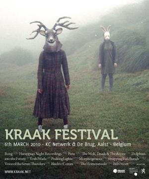 affiche du kraak festival 2010