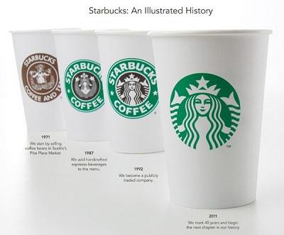 nouveau logo Starbucks 2011