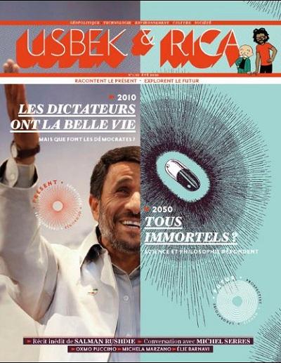 couverture numéro 1 de Usbek et Rica
