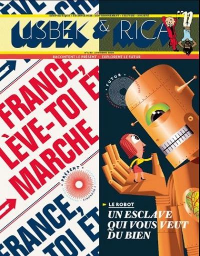 couverture numéro 2 de Usbek et Rica