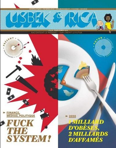 La couverture du numéro 4 de Usbek & Rica
