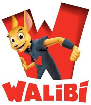 Le nouveau logo des parcs Walibi