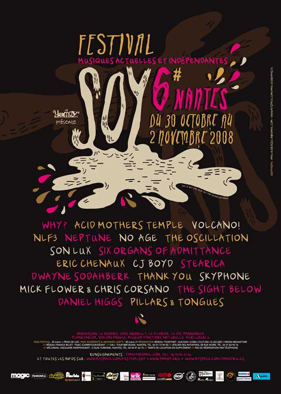 Affiche SOY festival 2008