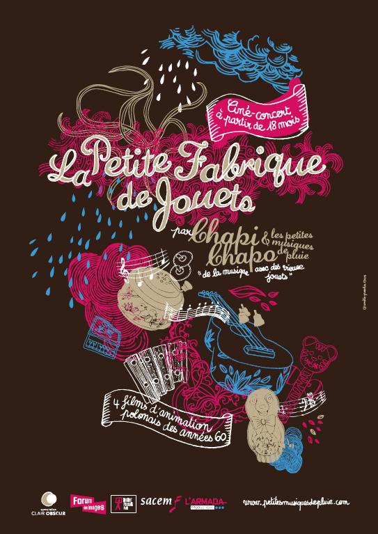 Affiche Chapi Chapo Fabrique De Jouets