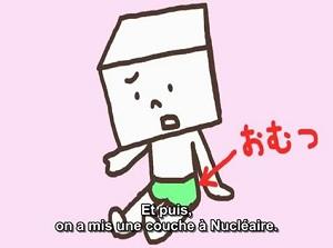 Quand l'accident nucléaire de Fukushima devient un excrément