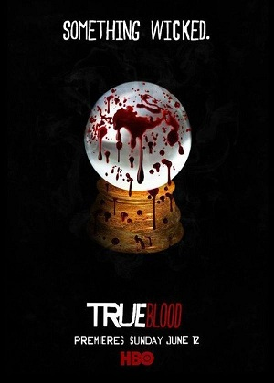 affiche saison 4 de True Blood