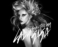 lady gaga born this way single