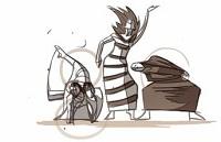 Le Doodle Google danse pour Martha Graham
