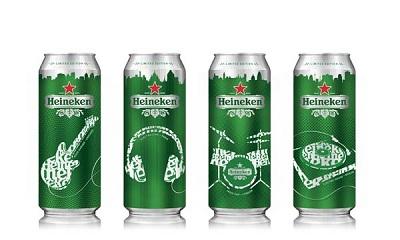 La musique imprime la Heineken Spring Collection 2011