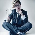 Scarlett Johansson est Buster Keaton pour Tim Walker