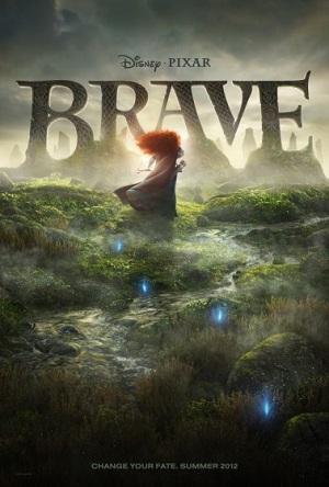 L'affiche et le trailer de Brave, film des studio Pixar