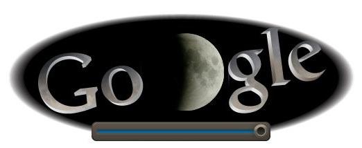 google doodle eclipse de lune 15 juin