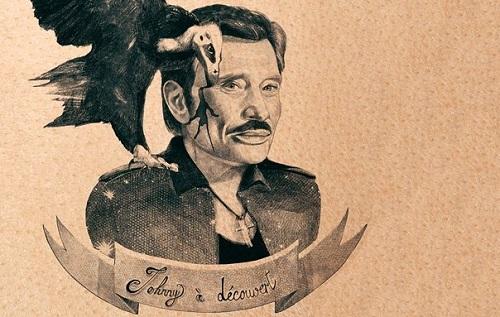 Johnny Hallyday par Alexandra Compain-Tissier