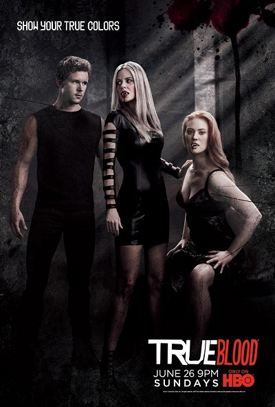 poster True Blood saison 4 noir
