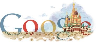 Google honore les 450 ans de la Cathédrale Saint-Basile