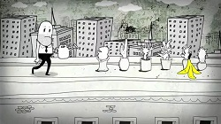 extrait de In the fall de Steve Cutts