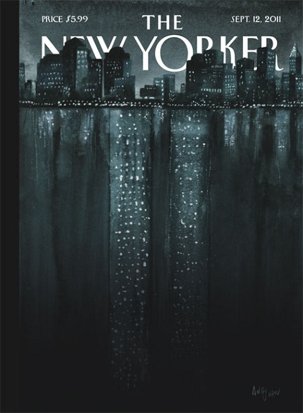 The New Yorker - The Talk of the Town: After 9/11, couverture réalisée par Ana Juan