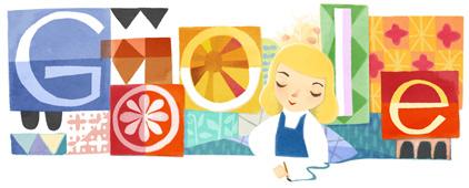 Google fêtes les 100 ans de Mary Blair