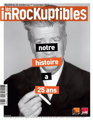 Les Inrocks 25 ans David Lynch