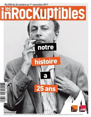 Les Inrocks 25 ans Michel Houellebecq