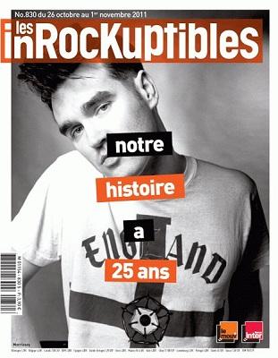 Les Inrocks 25 ans Morrissey