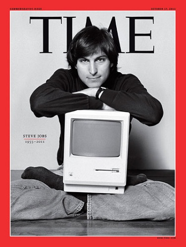 Steve Jobs en couverture du Time