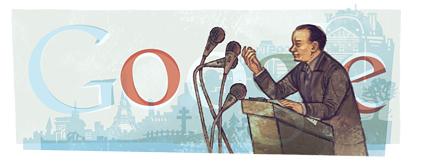 Google fête l'anniversaire d'André Malraux