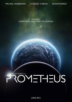 L'affiche de Prometheus, prochain film de Ridley scott