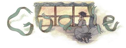 doodle Gustave Flaubert 2011